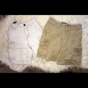 Gap kids cargo shorts Lot Sz 6/7  GUC